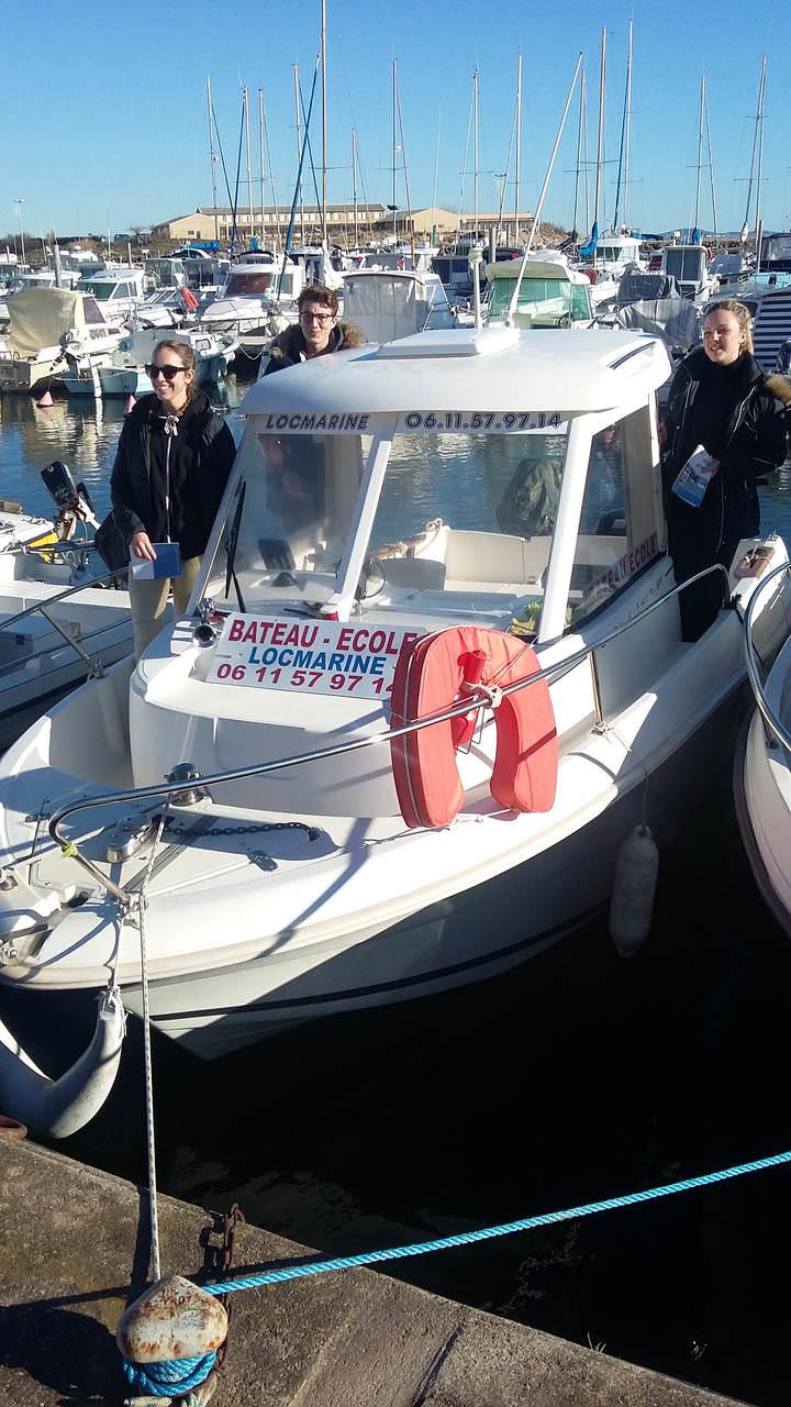 école de bateau Valras-Plage